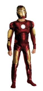 Child Iron Man Muscle Costume   Iron Man Costumes   15DG7137