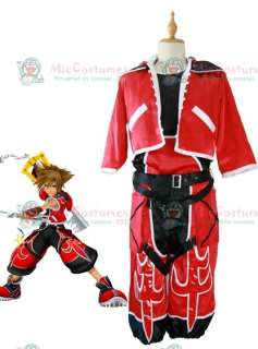 Kingdom Hearts Sora Brave Form Cosplay Costume For Sale