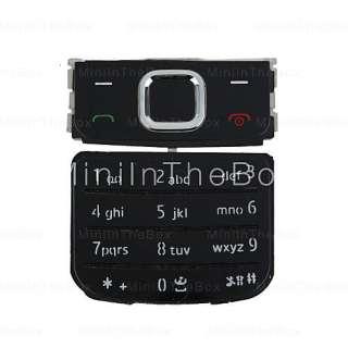 peças de reparo do teclado para celular Nokia 6700 (preto) #00097059