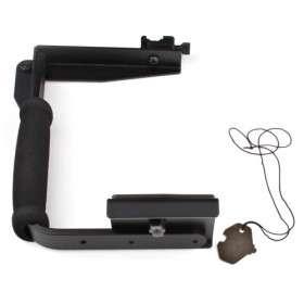 tipo marco de Flash manos tirón del brazo soporte para cámaras SLR