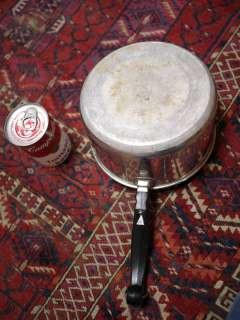 Vintage FARBERWARE 3 Qt Quart Sauce Pan Pot Stainless Steel Aluminum