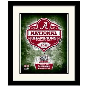 NCAA Alabama Crimson Tide 2011 BCS National Champions 8 x