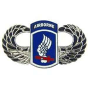 U.S. Army 173rd Airborne Wings Pin 1 1/2 Arts, Crafts