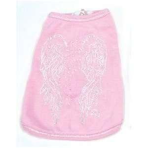 Angel Wings Tee Pink