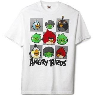 Angry Birds Circle Night Mens T Shirt