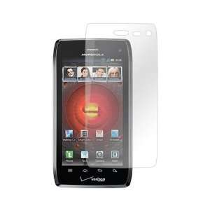 Droid 4 Anti Glare LCD Screen Protector Cover Kit Film: Electronics