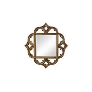 Murray Feiss MR1133AGD Carolyn Mirror in Antique Gold with