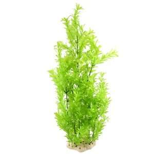 Como Fish Tank Aquascaping Green Plastic Decorative Water