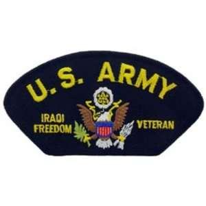 U.S. Army Iraqi Freedom Hat Patch 2 3/4 x 5 1/4 Patio