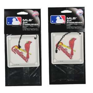 of 2 MLB St. Louis Cardinals Auto Car Air Fresheners