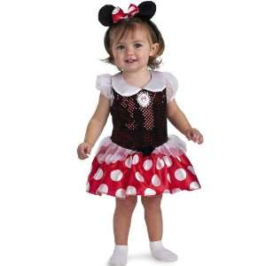 Baby Minnie Costume Infant 12 18 Month Cute Halloween 2011