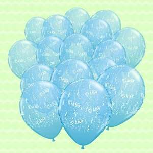 Its A Boy   25 per pack Baby Shower Balloons Toys & Games