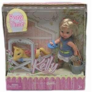 Barbie Kelly Pony Time Kelly Doll Set Toys & Games