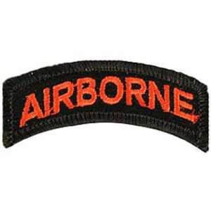U.S. Army Airborne Patch Red & Black 2 1/2 Patio, Lawn & Garden