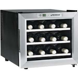 Bottle Single Zone Free Standing Countertop Wine Cooler Electronics