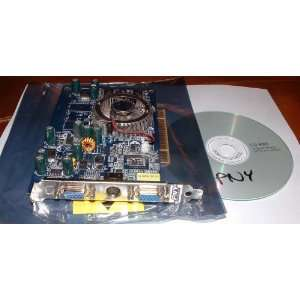 VISTA TV OUT DUAL DISPLAY VGA PCI VIDEO CARD + DRIVER CD: Electronics