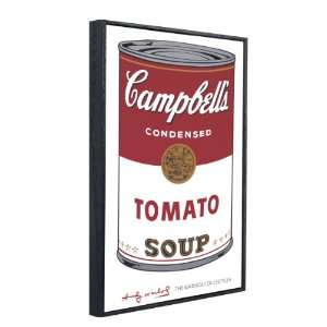 wood framed print Campbells Soup 1 Tomato, 1968