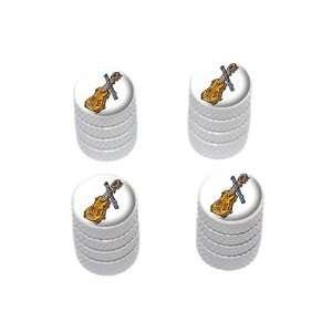Music Musical Instruments   Tire Rim Wheel Valve Stem Caps   White