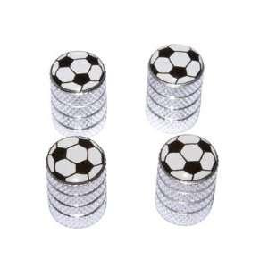 Soccer Ball   Football Sport Valve Stem Caps   Aluminum Automotive