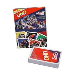 New York Giants UNO Card Game  Sports & Outdoors