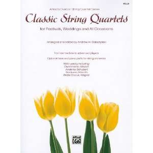 String Quartets for Festivals, Weddings, and All Occasions Cello