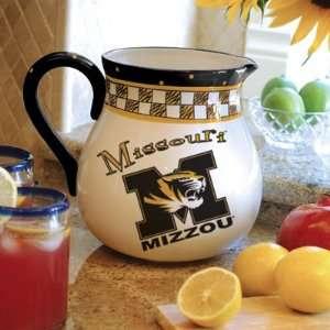 of Missouri Tigers Mizzou Ceramic Drink Pitcher