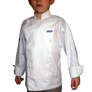 CHEFSKIN XS Chef Jacket Coat Costume XS extra small WHITE