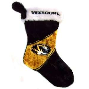 Missouri Tigers NCAA Himo Plush Christmas Stocking