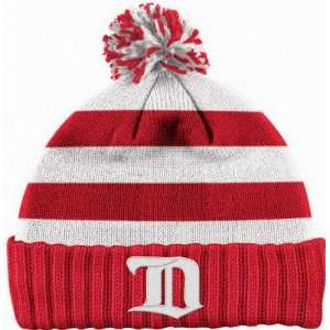 DETROIT RED WINGS Winter Classic Cuffed Vintage Knit Beanie Hat