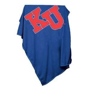 University of Kansas Jayhawks Sweatshirt Blanket Sports