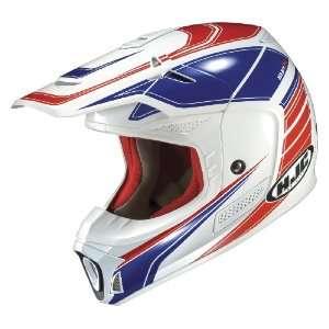 HJC SP X Contact MC 21 Motocross Helmet White/Red/Blue