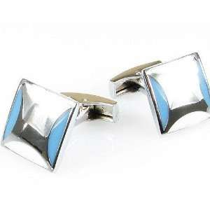 Mens Cufflink   Stainless Steel Case Pack 4 Everything