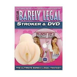 Hustler Barely Legal CyberSkin Stroker & DVD