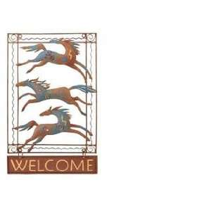 Welcome Sign Home front Door Decor wall plaque patio Everything Else