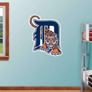 MLB Detroit Tigers Logo Vinyl Wall Graphic Decal Sticker