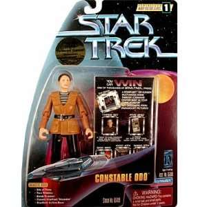 Star Trek Warp Factor Series 1  Constable Odo Action Figure Toys