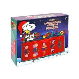 Peanuts A Charlie Brown Christmas Dominoes  Toys & Games