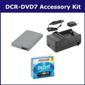 Sony DCR DVD7 Camcorder Accessory Kit includes 638002