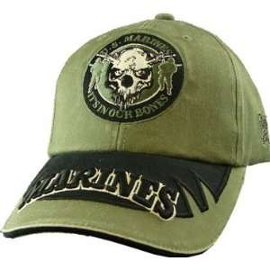 US Marine Corps In Our Bones OD Green Cap: Everything