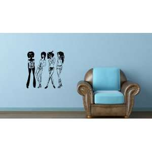 Wall Mural Vinyl Sticker Sexy Fashion Shopping Girl A1201
