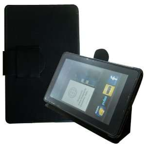 ® (Black) Folio Slim Case Cover Stand for  Kindle Fire Tablet