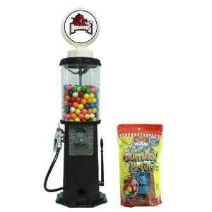 Arkansas Razorbacks NCAA Black Retro Gas Pump Gumball Machine