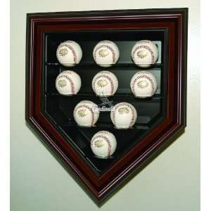 St. Louis Cardinals Nine Ball Home Plate   Mahogany