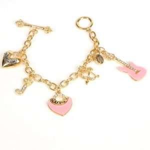 Juicy Couture Princess Gold Charm Bracelet Chain Toys & Games