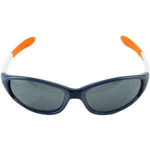 Denver Broncos Navy Blue White NFL Sport Sunglasses