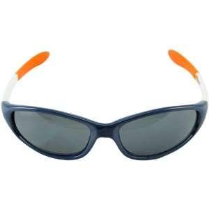 Denver Broncos Navy Blue White NFL Sport Sunglasses Sports & Outdoors