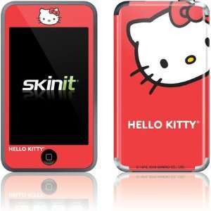 Hello Kitty Cropped Face Red skin for iPod Touch (1st Gen