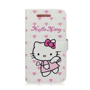 Hello Kitty Diary/Wallet Style iPhone 4/4S Case   ANGEL Cell Phones