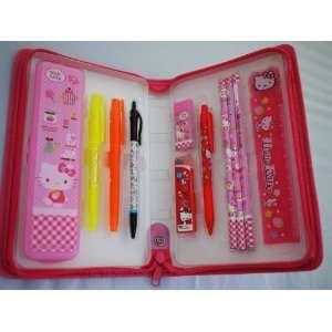 11PCS Sanrio Hello kitty School Supplies Value Set with
