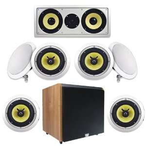 System w/800W Maple 12 Powered HD Home Subwoofer (7.1) Electronics
